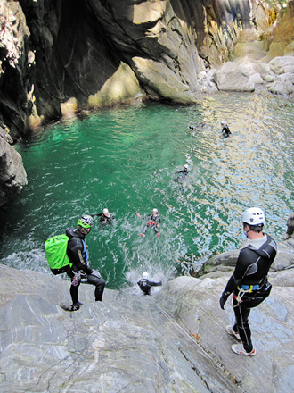 Easy Canyoning